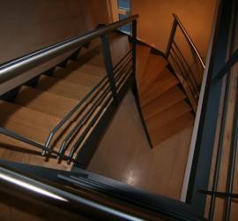 Escalier - Villers-la-ville - 02