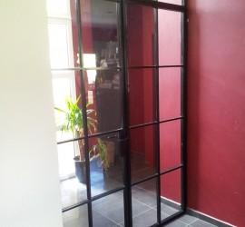 Porte vitrée - St-Martin 01